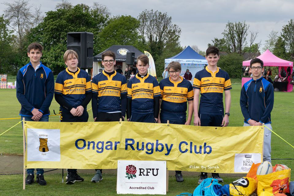 Ongar Rugby Team