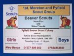 1st Moreton & Fyfield Scout Group