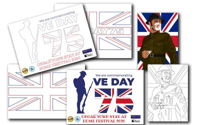 VE DAY 75 Posters