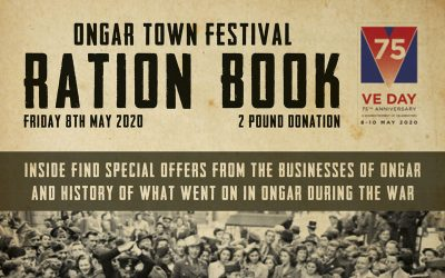 Ration Book Ongar 'Stay at Home' Festival